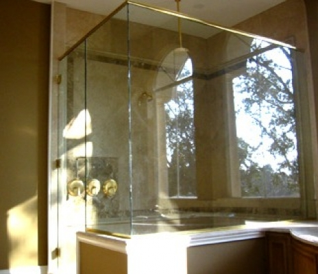:: Shower Doors Charlotte, NC : Glass Bathtub Enclosures : Charlotte